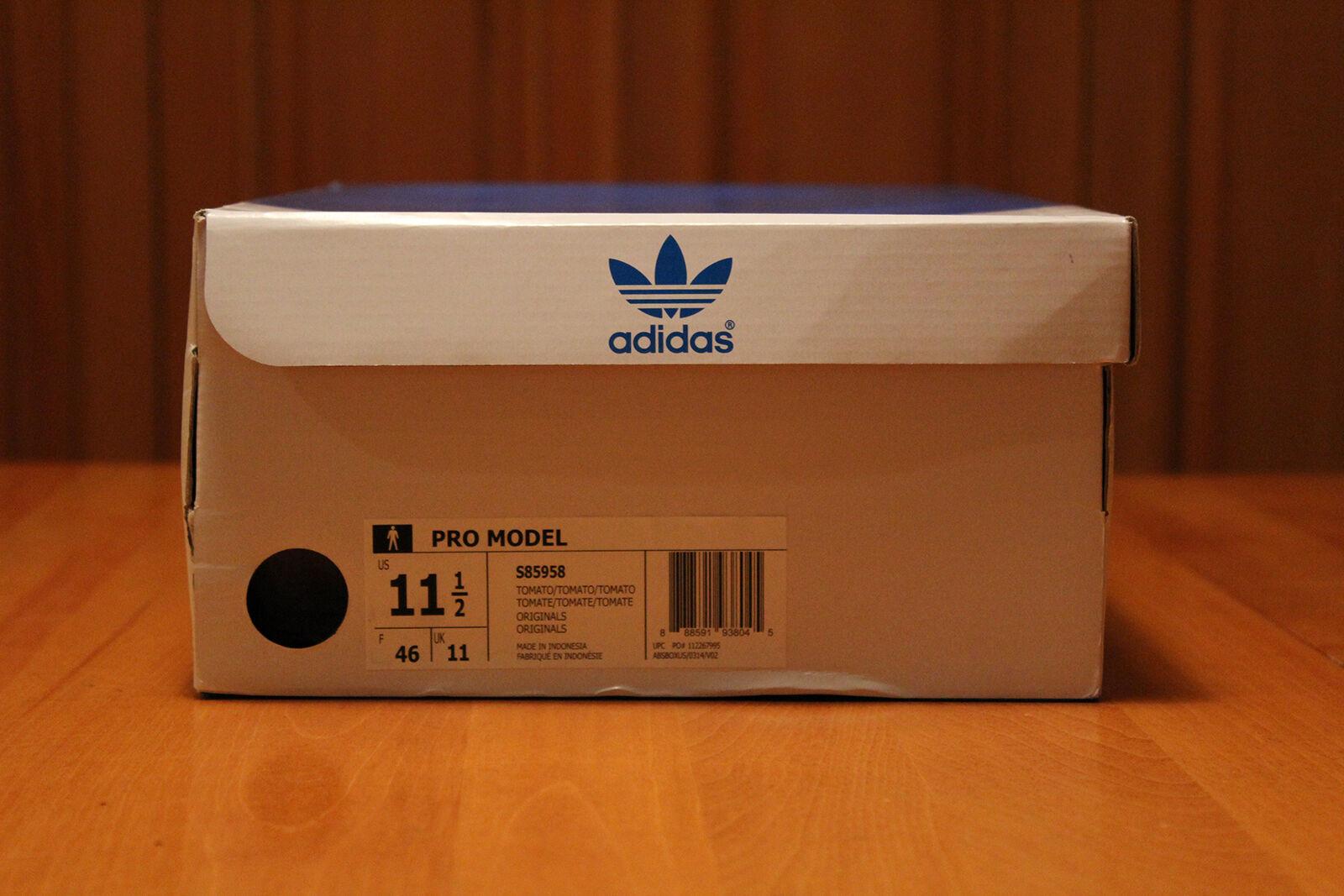 Adidas - uns modell rot - basketball - schuhe uns - schuhgröße (männer). 4826c2
