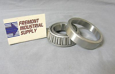 (Qty of 2 sets) Troybilt 941-0107 Tapered roller bearing cup & cone