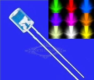 3mm-5mm-Flat-top-Red-Blue-Green-Water-Clear-Superbright-LED-lamp-Emitting-Diode