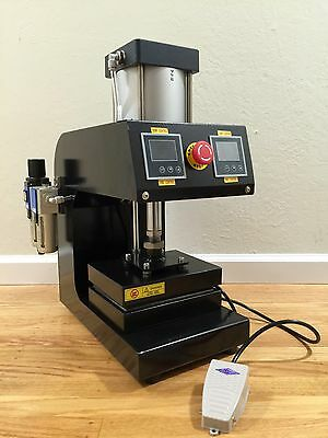 Pneumatic Professional Rosin Press 5000psi 6 x 8 Platen, Solventless, foot pedal