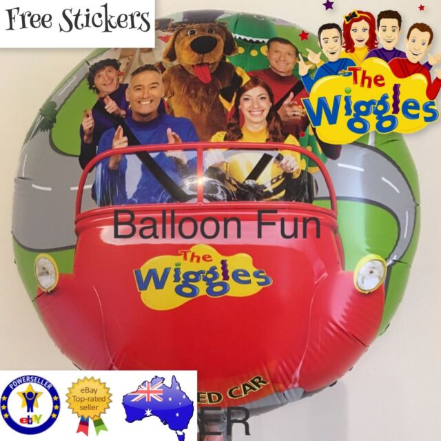 THE WIGGLES BIRTHDAY BALLOON 45cm OFFICIAL PARTY SUPPLIES Helium Foil Toy Free