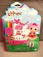 Lalaloopsy Drawing Portfolio Includes 260 Stickers - Stencils - 40 Pages