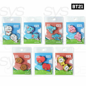 BTS-BT21-Official-Authentic-Goods-Character-Badge-Baby-Ver-Tracking-Number