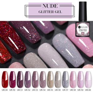 UR SUGAR 7.5ML Shinning Glitter Sequins Nail Gel UV Gel