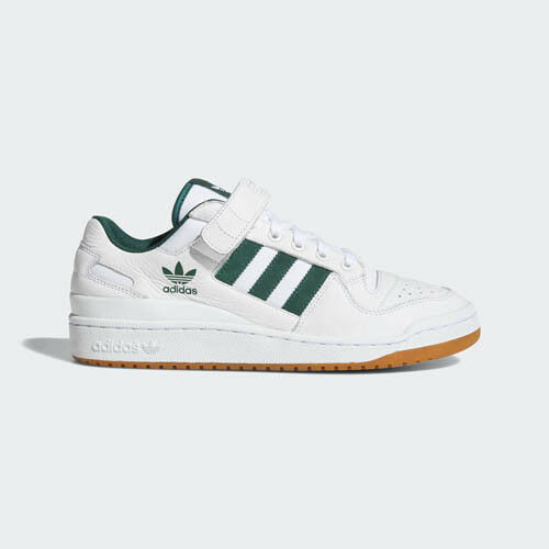 Adidas AQ1261 Forum LO Running  chaussures Blanc  green sneakers