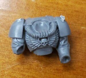 Warhammer 40k Space Marine Armory Bits Devastator Squad Head w//Targeter x1 C