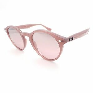 3a528676e57 Ray Ban RB 2180 6229 7E Opal Pink Silver Mirror Sunglasses New ...