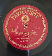 """RARE 78RPM 10"""" PARLOPHON GABRE' MAMMINA BRUNA / PASSIONE HAWAIANA E. FUSCO"""