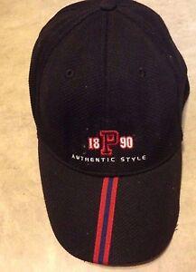 aafc8da3930 Vintage US Polo Ralph Lauren 1890 P Authentic Style Baseball Cap Hat ...