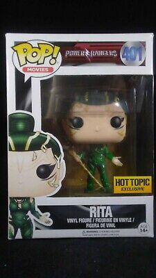 FUNKO POP Power Rangers Rita #401 Hot Topic exclusive Vinyl Figure NEW