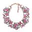 Fashion-Elegant-Women-Bib-Crystal-Pendant-Statement-Chain-Chunky-Choker-Necklace thumbnail 128