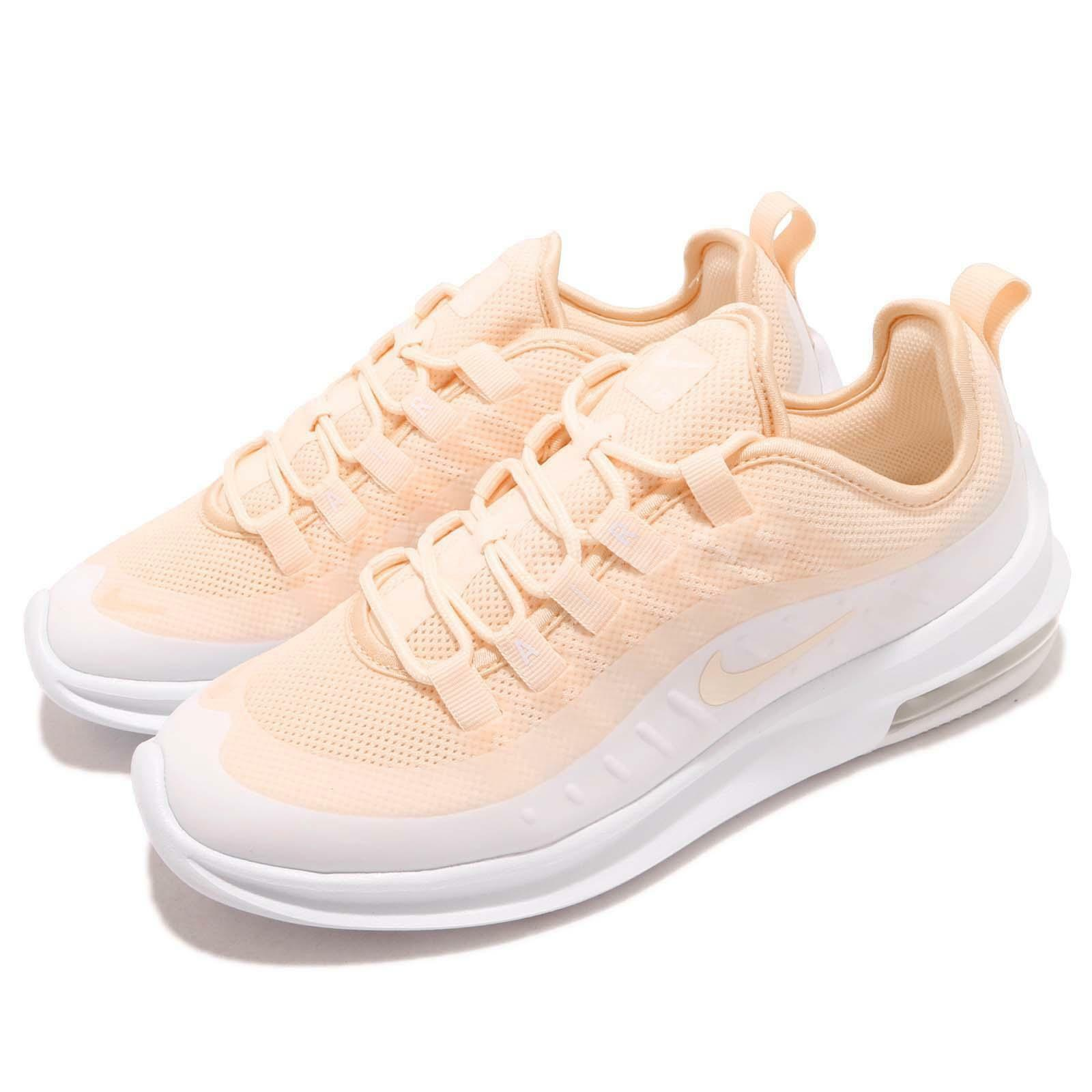 2a826d5a3442e Nike Wmns Air Max Axis Guava Blanc Ice Blanc Guava Women Running Chaussures  Baskets AA2168-