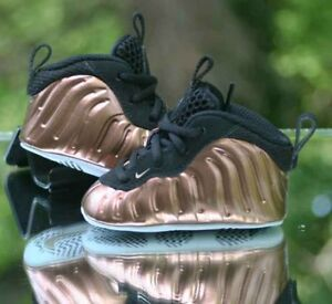 d2718be810b Image is loading Nike-Little-Foamposite-One-Toddler-644790-004-Copper-
