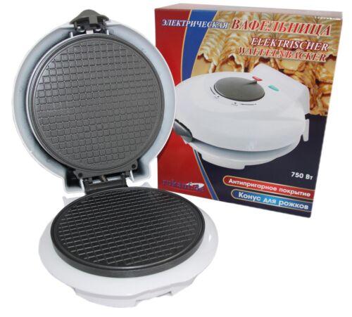 Automatic Baking Oven Waffelnbäcker Waffle Maker Eiswaffelformer with Bowling