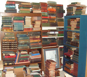 Lot-of-4-Antique-Collectible-Old-Rare-Hard-To-Find-Books-MIX-UNSORTED