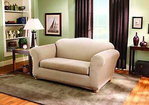 Sure Fit Stretch Stripe 2 Piece Sofa
