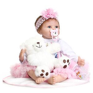 Newborn-22-039-039-Bebe-Reborn-Baby-Girl-Doll-Soft-Silicone-Vinyl-Likelife-1pc-Toy-Hot