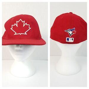 Toronto Blue Jays New Era 59FIFTY Mesh Ball Cap 7 3 8 Red Canada ... 3bcee5d1a705