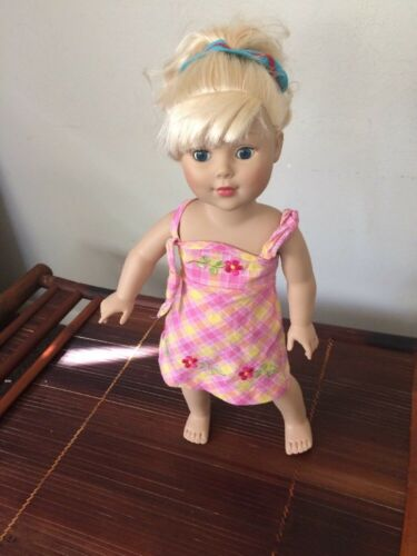 "Fits 18"" American Girl Madame Alexander Blonde Doll 18"" 2009"