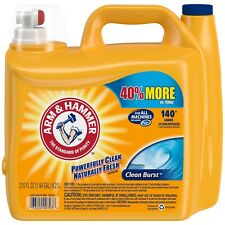 Arm & Hammer 33200-09793 Liquid Laundry Detergent Clean Burst 210 oz pack of 2