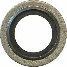 Mild Steel Nitrile To Suit Metric Threads Pack of 2 Self Centering Bonded Seal