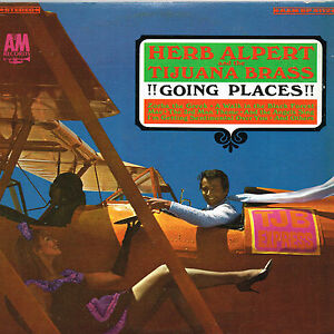 HERB-APLERT-amp-TILUANA-BRASS-going-places-U-S-A-amp-M-LP-SP-4112-original-1965
