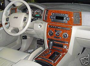 2005 2006 07 interior wood dash trim kit for jeep grand cherokee laredo limited ebay details about 2005 2006 07 interior wood dash trim kit for jeep grand cherokee laredo limited