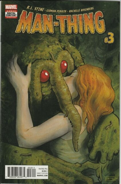 Man-Thing, Vol. 5 #3 (Marvel Comics) Modern Age