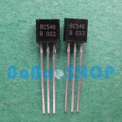 BC546B NPN+ BC556B PNP 30pairs 65V 100mA general-purpose transistors NXP TO92