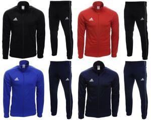 Adidas Core 18 Herren Trainingsanzug Fußball Sportanzug