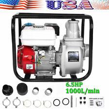 3 Inch 65 Gas Water Semi Trash Pump Petrol High Pressure Garden Irrigation