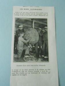 Les-Mines-Sous-Marines-Examen-d-039-une-Mine-Allemande-WWI-1917-print-image