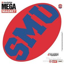 "Southern Methodist Mustangs SMU MEGA Logo Design 12"" Magnet Auto Home University"