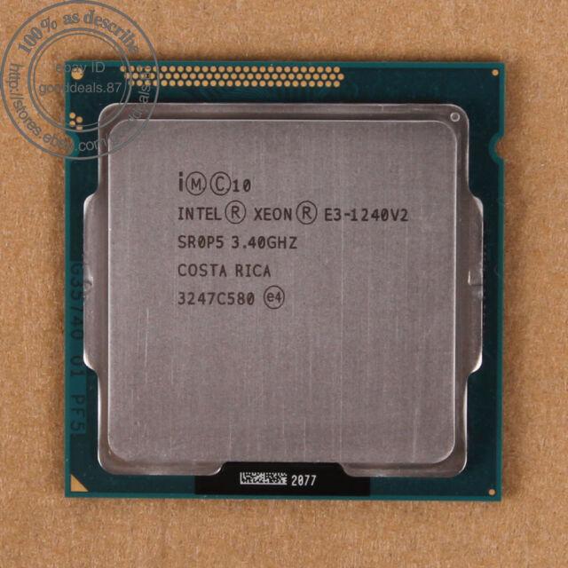 Intel Xeon E3-1240 V2 - 3.4 GHz (BX80637E31240V2) SR0P5 LGA 1155 CPU Prozessor