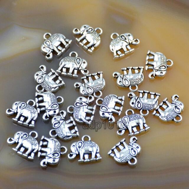 150Pcs Tibetan Silver Tone Tiny Waterdrop Teardrop Charms Pendants 4x12mm