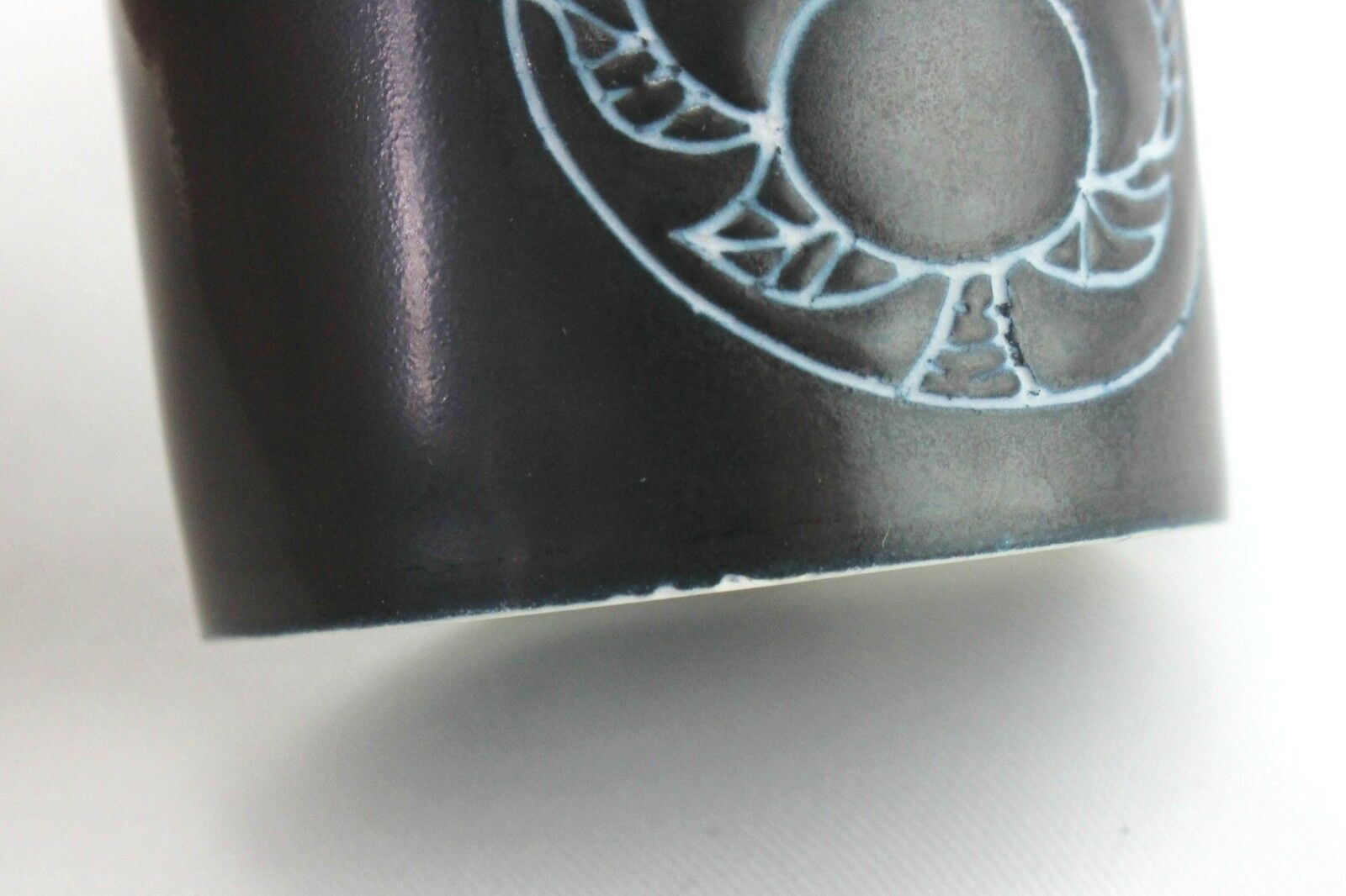 6 x Arabia shot     snaps cups Olli Vasa Finnish pottery design 1960's 36fe10