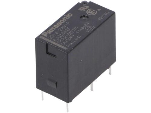 4 pcs JQ1A-24V-F  Panasonic Relais  Relay  24VDC  5A  2880R  SPST-NO  NEW  #BP