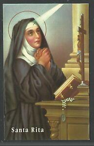 image pieuse de Santa Rita santino holy card estampa a9WlouEL-09092438-544830527