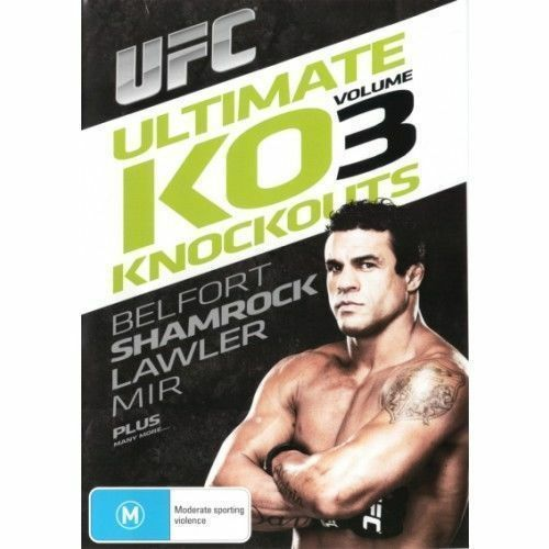 UFC - Ultimate Knockouts 03 (DVD, 2006)--FREE POSTAGE