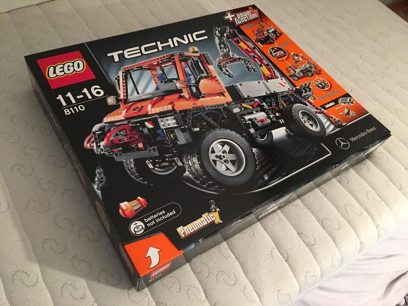 LEGO Technic Unimog U400 (8110) NEU UNGEÖFFNET
