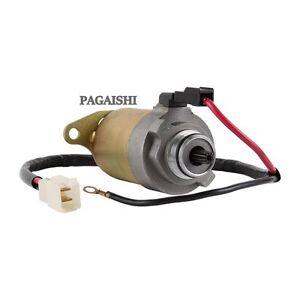 Genuine Pagaishi Heavy Duty Starter Motor Peugeot Ludix Pro 50 2010