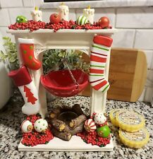 YANKEE CANDLE CHRISTMAS MANTLE HANGING TART BURNER BRAND NEW WITH TAGS