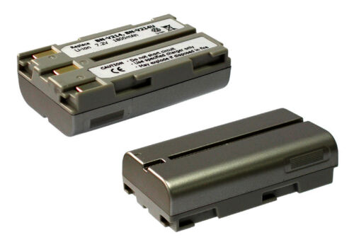 Batería JVC Thomson BN-V207 BN-V214 BAT-200 BAT-300 Comp para Cámaras de video
