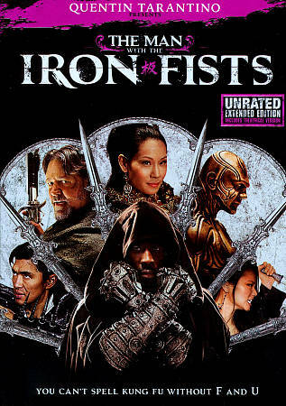The Man With The Iron Fists DVD 2013 New Sealed Russell Crowe Lucy Liu - $6.00