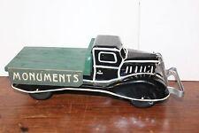 NICE 1930'S MARX CUSTOM FLAT BED MONUMENTS TRUCK