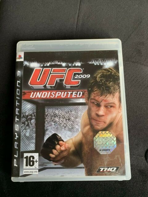 UFC 2009 - Jeu PS3 Complet