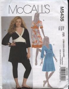 39b83f504a3 McCall s 5435 Sewing Pattern Misses  V-Neck Tunic   Dresses Sizes ...