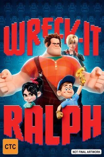 1 of 1 - WRECK IT RALPH h (Blu-ray, 2013). GREAT DISNEY MOVIE