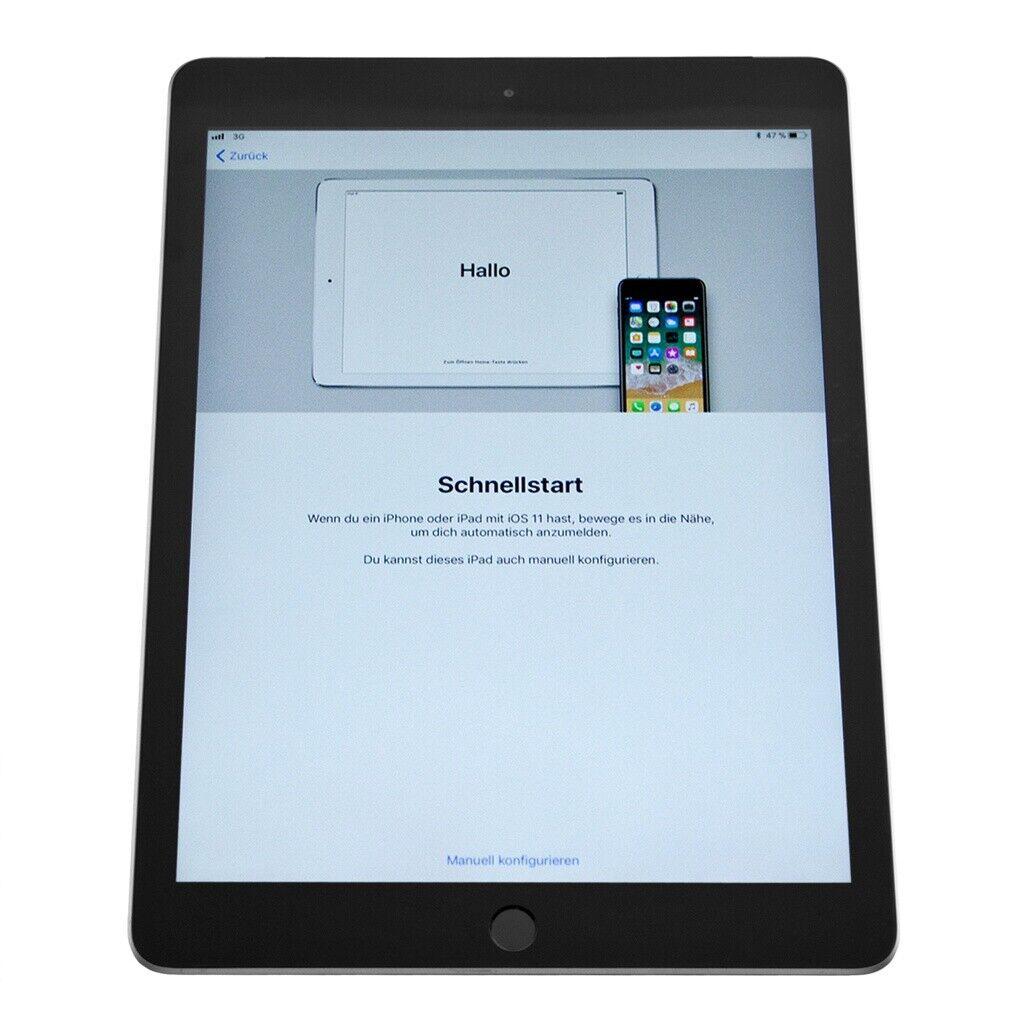 iPad: Apple iPad (2018) WiFi + 4G 32GB Spacegrau iOS Tablet geprüfte Gebrauchtware