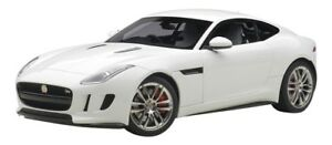 AUTOart-JAGUAR-F-Type-R-Coupe-2015-White-1-18-Scale-Model-Car-Diecast-Tracking